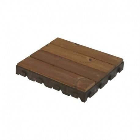 Płytka Tarasowa Combi Wood Drewniana 400 X 400mm