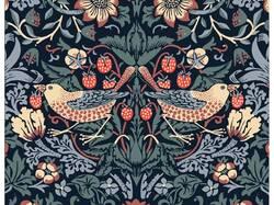 5eebdde04eeee8 Stylowe rękawice ogrodowe - rozmiar M - William Morris Strawberry Thief